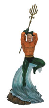 Image: DC Gallery PVC Diorama: Aquaman  - Diamond Select Toys LLC