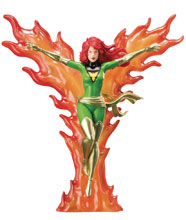Image: Marvel Universe ArtFX+ Statue: X-Men 92 - Furious Power Phoenix  - Koto Inc.