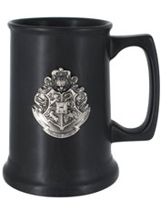 Image: Harry Potter Tall Ceramic Mug: Hogwart's Crest  - Monogram Products
