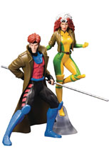 Image: Marvel ArtFX+ Statue 2-Pack: X-Men '92 Gambit & Rogue  - Koto Inc.