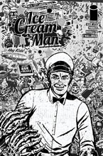 Image: Ice Cream Man #14 (cover B - B&W Rentler) - Image Comics