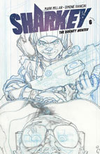 Image: Sharkey the Bounty Hunter #6 (cover B - Bianchi sketch) - Image Comics