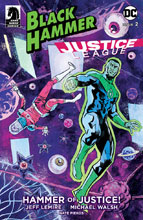 Image: Black Hammer / Justice League: Hammer of Justice #2 (cover A - Walsh) - Dark Horse Comics