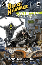 Image: Black Hammer / Justice League: Hammer of Justice #2 (cover B - Thompson) - Dark Horse Comics