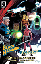 Image: Black Hammer / Justice League #2 (cover D - Tedesco) - Dark Horse Comics
