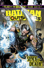 Image: Batman & the Outsiders #4 (Year of the Villain - Dark Gifts) - DC Comics