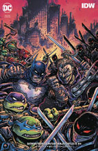 Image: Batman / Teenage Mutant Ninja Turtles III #4 (variant cover - Kevin Eastman) - DC Comics/IDW