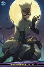 Image: Catwoman #14 (Year of the Villain - Dark Gifts) (card stock cover - Stanley Lau) - DC Comics