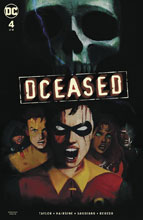 Image: DCeased #4 (card stock cover - Horror) - DC Comics