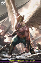 Image: Hawkman #15 (Year of the Villain - Dark Gifts) (variant cover - Bill Sienkiewicz) - DC Comics