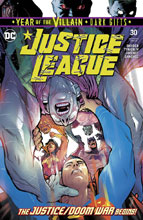 Image: Justice League #30 (Year of the Villain - Dark Gifts) - DC Comics