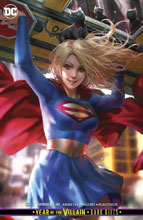 Image: Supergirl #33 (Year of the Villain - Dark Gifts) (card stock cover - Derrick Chew) - DC Comics