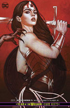 Image: Wonder Woman #76 (Year of the Villain - Dark Gifts) (variant cover - Jenny Frison) - DC Comics