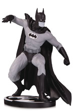 Image: Batman Black & White Statue: Batman by Gene Colan  - DC Comics