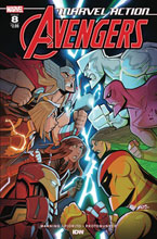 Image: Marvel Action: Avengers #8 (Sommariva) - IDW Publishing