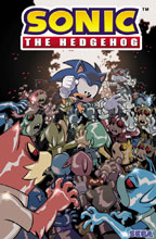Image: Sonic the Hedgehog #20 (cover A - Stanley) - IDW Publishing