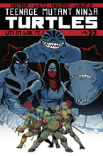 Image: Teenage Mutant Ninja Turtles Vol. 22: City at War Part 1 SC  - IDW Publishing