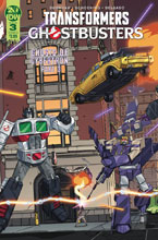 Image: Transformers / Ghostbusters #3 (cover A - Schoening) - IDW Publishing