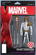 Image: Powers of X #3 (variant Action Figure cover - Christopher) - Marvel Comics