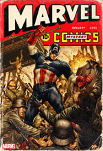 Image: Marvel Comics #1000 (variant cover 40s - Brooks) - Marvel Comics