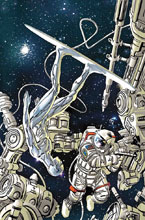 Image: Silver Surfer: The Prodigal Sun #1 (variant cover - Garney) - Marvel Comics