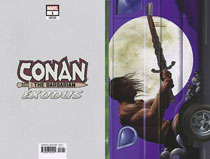 Image: Conan the Barbarian: Exodus #1 (variant cover - Horn Van) - Marvel Comics