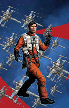 Image: Star Wars: Age of Resistance - Poe Dameron #1 (variant Puzzle-Piece cover - McKone) - Marvel Comics