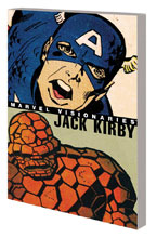 Image: Marvel Visionaries: Jack Kirby SC  - Marvel Comics