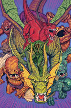 Image: Marvel Monsters by Bradshaw Poster  - Marvel Comics