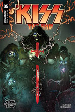 Image: Kiss End #5 (cover A - Sayger) - Dynamite