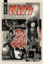 Image: Kiss End #5 (cover B - Fornes) - Dynamite