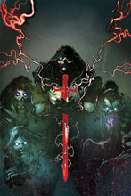 Image: Kiss: The End #5 (incentive cover - Sayger virgin) (10-copy) - Dynamite