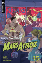 Image: Warlord of Mars Attacks #3 (cover C - Villalobos) - Dynamite