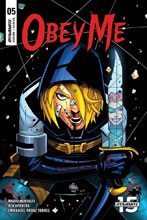 Image: Obey Me #5 (cover B - Herrera) - Dynamite