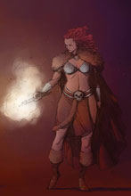 Image: Red Sonja Vol. 05 #7 (incentive cover - Pham virgin) (40-copy) - Dynamite
