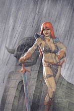 Image: Red Sonja #7 (variant cover - Linsner virgin) - Dynamite