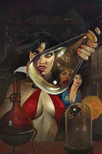 Image: Red Sonja & Vampirella Meet Betty & Veronica #4 (variant cover - Dalton virgin) - Dynamite