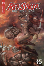 Image: Red Sonja: Birth of the She-Devil #3 (cover A - Parrillo) - Dynamite
