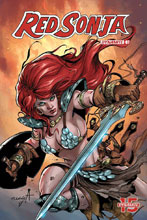 Image: Red Sonja: Birth of the She-Devil #3 (cover B - Davila) - Dynamite