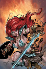 Image: Red Sonja: Birth of the She-Devil #3 (incentive cover - Davila virgin) (10-copy) - Dynamite