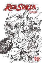 Image: Red Sonja: Birth of the She-Devil #3 (incentive cover - Davila B&W) (20-copy) - Dynamite