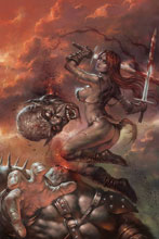 Image: Red Sonja: Birth of the She-Devil #3 (variant cover - Parillo virgin) - Dynamite
