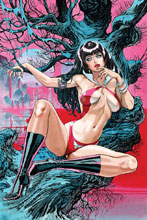 Image: Vampirella Vol. 05 #2 (incentive cover - March virgin) (40-copy) - Dynamite