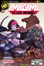 Image: Amalgama Space Zombie #1 (cover E - Tmchu) - Action Lab - Danger Zone