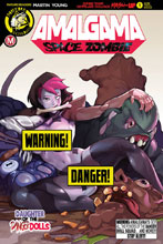 Image: Amalgama Space Zombie #1 (cover F - Tmchu risque) - Action Lab - Danger Zone