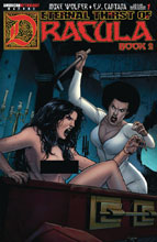 Image: Etneral Thrist of Dracula 2 #1 (variant Brides Nude cover - Mike Kalvoda) - American Mythology Productions