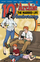 Image: Archie: The Married Life - 10th Anniversary #1 (cover E - Lopresti)  [2019] - Archie Comic Publications