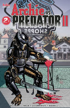 Image: Archie vs. Predator 2 #2 (cover B - Chaykin) - Archie Comic Publications