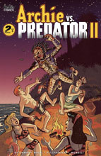 Image: Archie vs. Predator 2 #2 (cover C - Galvan) - Archie Comic Publications