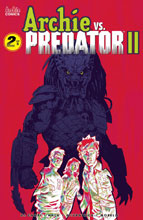 Image: Archie vs. Predator 2 #2 (cover F - Walsh) - Archie Comic Publications